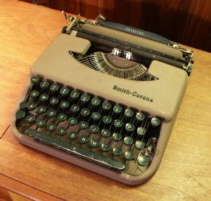Boswell, the 1956 Smith-Corona Skyriter