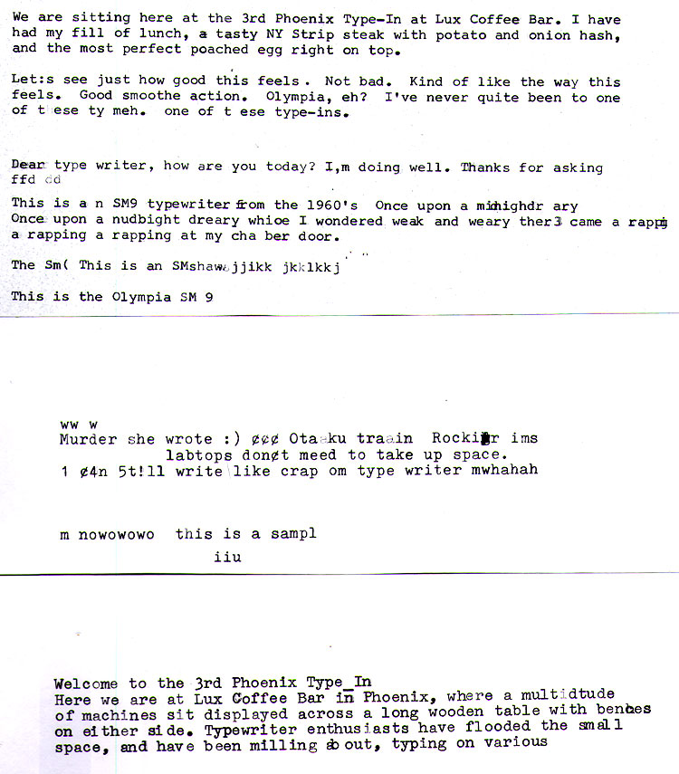 2012 04 03 rand3 Report: Phoenix Typewriter Round Up / Type In 3