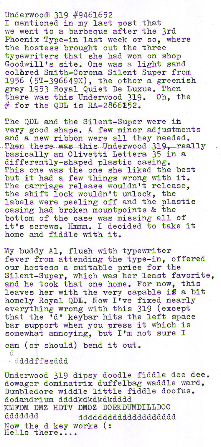 2012 04 29 under319 Typewriter Evangelism hits paydirt!