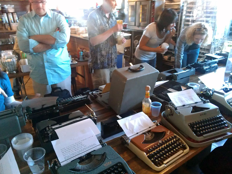 IMAG0270 Report: Phoenix Typewriter Round Up / Type In 3