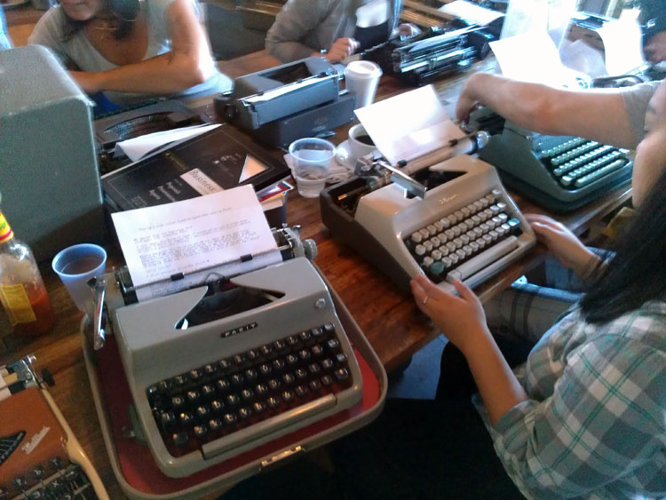 IMAG0276 Report: Phoenix Typewriter Round Up / Type In 3