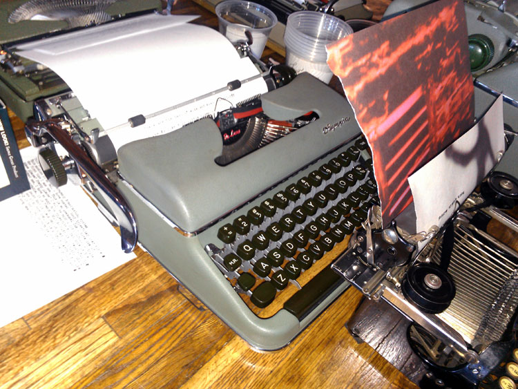 IMAG0281 Report: Phoenix Typewriter Round Up / Type In 3