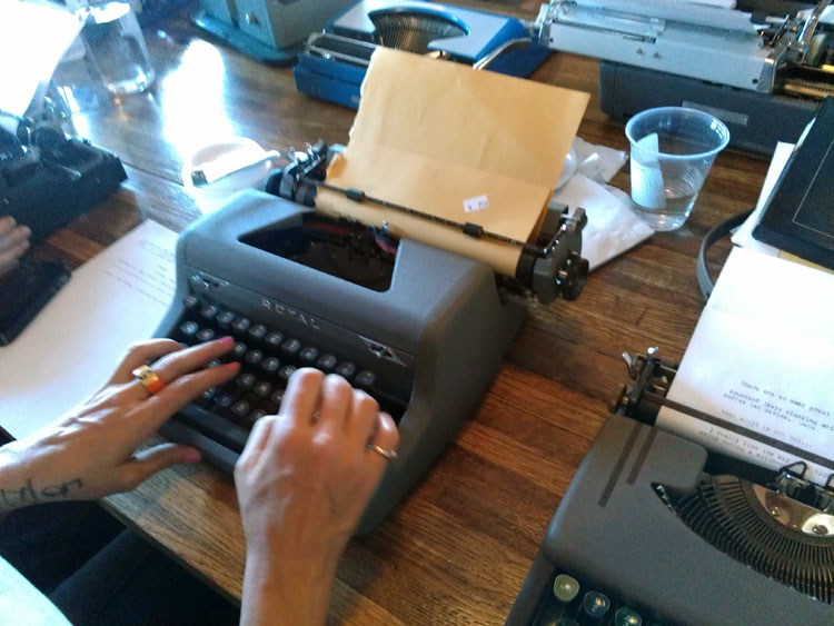 IMAG0282 Report: Phoenix Typewriter Round Up / Type In 3