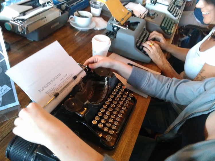 IMAG0283 Report: Phoenix Typewriter Round Up / Type In 3