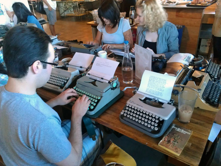 IMAG0285 Report: Phoenix Typewriter Round Up / Type In 3