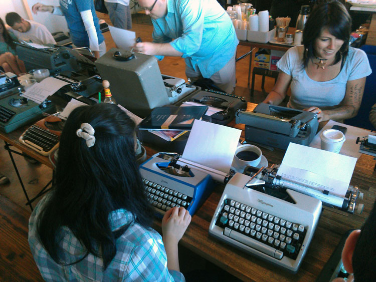 IMAG0287 Report: Phoenix Typewriter Round Up / Type In 3