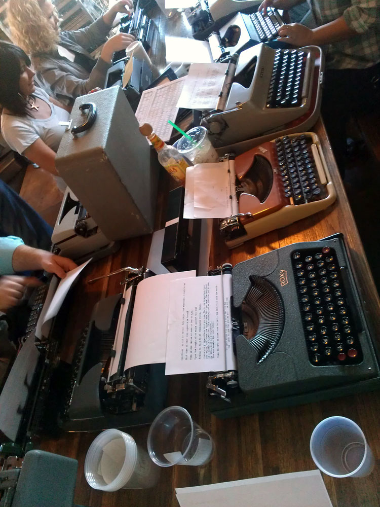 IMAG0288 Report: Phoenix Typewriter Round Up / Type In 3