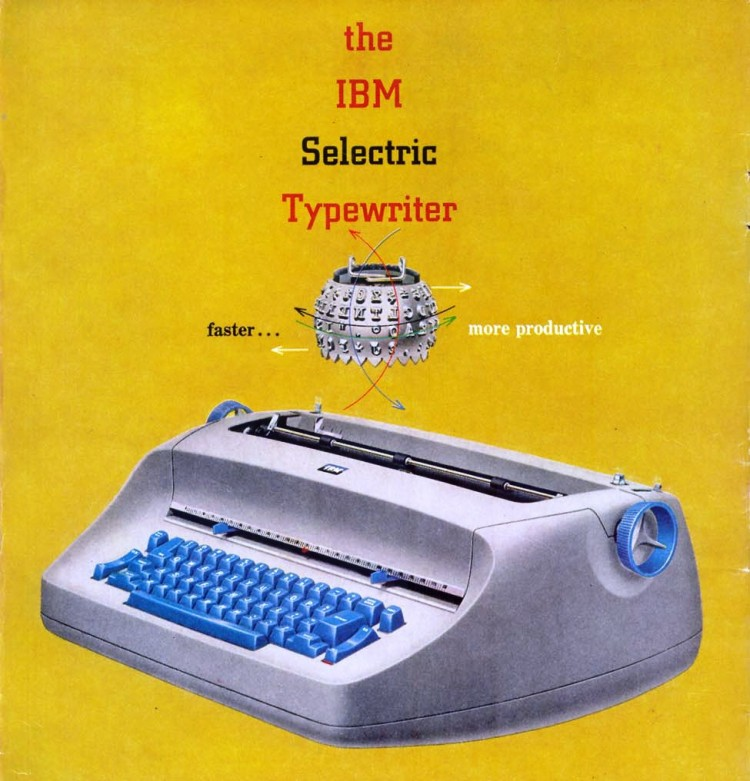 IBM Selectric1 750x781 The Blue Bomber: Part 2