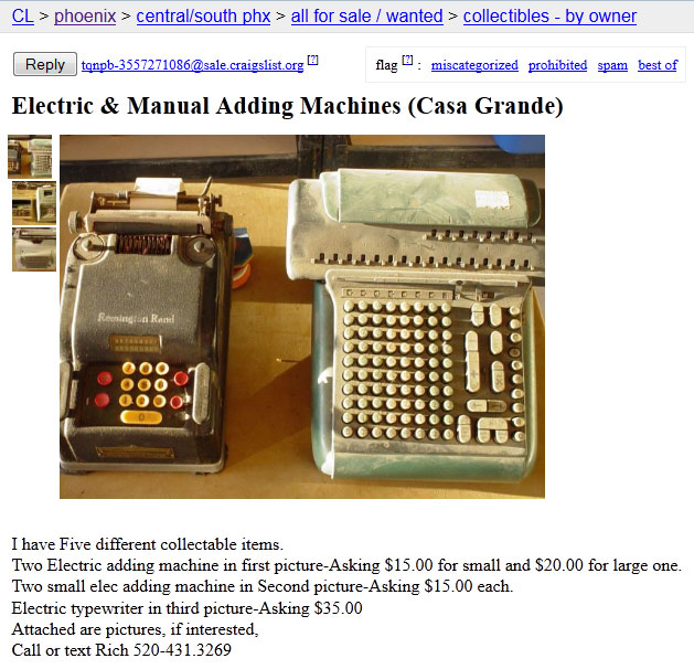 cl addingmach 1 Marchant Figuremaster adding machine