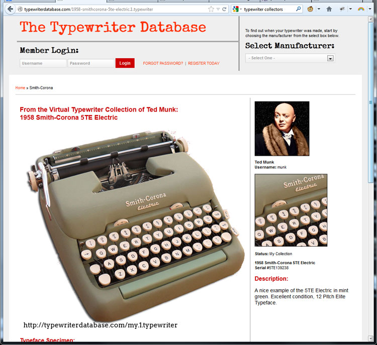 tw db x2 Typewriter Database: Weekend Update!