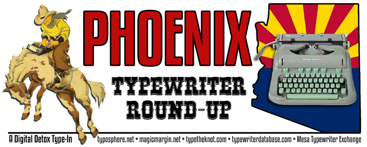 4th typein ban color The 4th Phoenix Typewriter Round Up & Type In