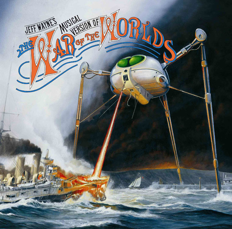 Jeff Wayne's 1978 Disco Prog-Rock Opera retelling of the War of the Worlds.