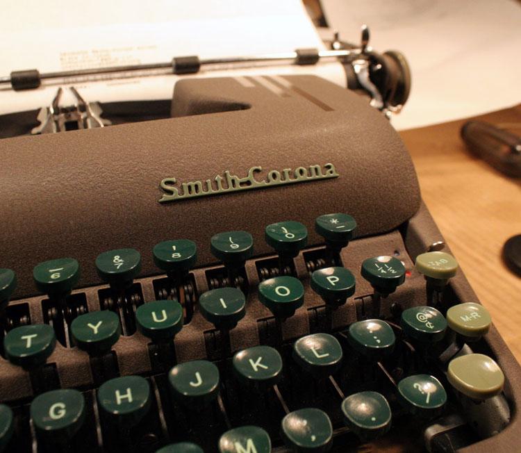 Weapon of Choice: Un-named Smith-Corona Silent.