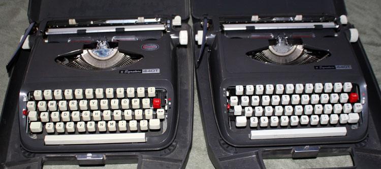 Thunderbird I and Thunderbird II, 1968 Montgomery Wards Signature 440T's (Brother JP-1's)