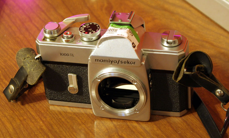Mamiya/Secor 1000 TL, a late 60's model. seems to be well-regarded.
