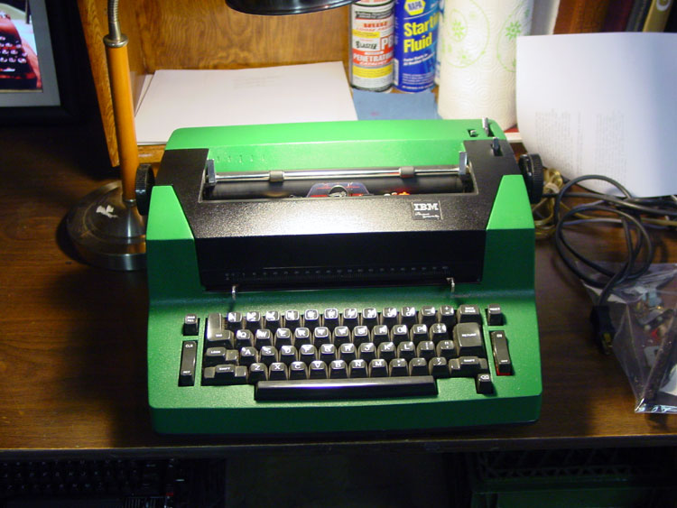 The Green Hornet - 1982 IBM Personal Selectric