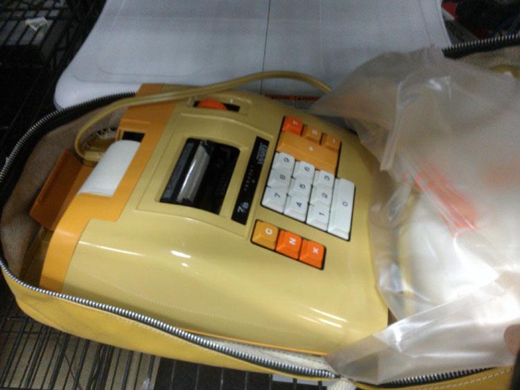 Funky! Retro! This was Leisure Suit Larry's desk calculator..