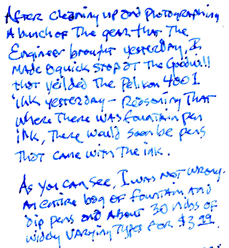 2014 02 20 a From the $3.99 Bag O Fountain Pens: 1960s Platignum Silverline