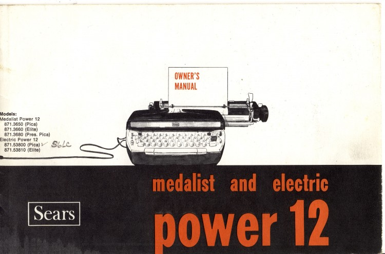 Untitled 1 750x496 Sears Medalist and Electric Power 12   Owners Manual   1968