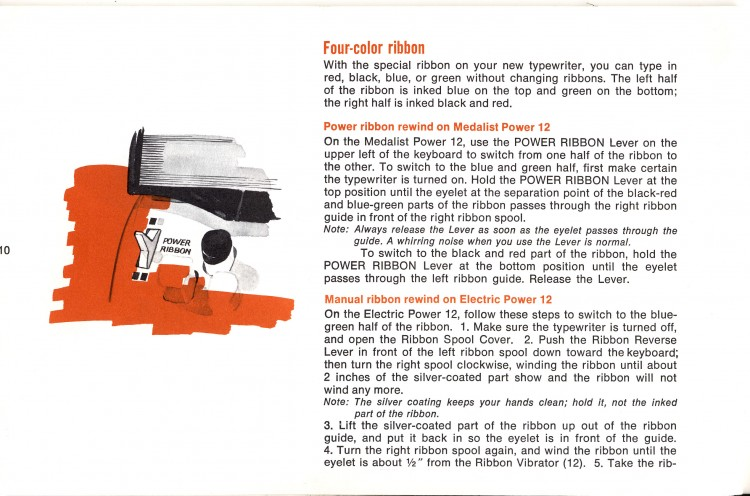 Untitled 14 750x496 Sears Medalist and Electric Power 12   Owners Manual   1968