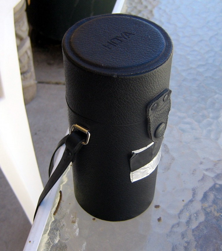 Hoya Lens Case Pinhole Camera Version 1.0