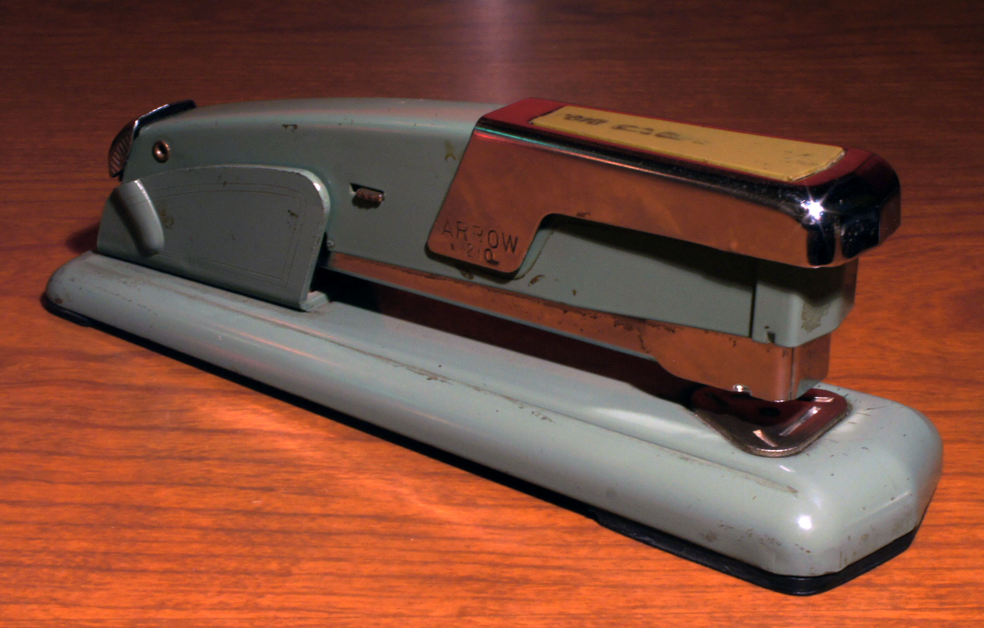 stapler of the week 1950 s arrow 210 to type shoot straight and