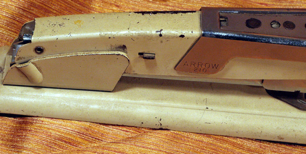 IMG 7309 Stapler of The Week: 1950s Arrow 210