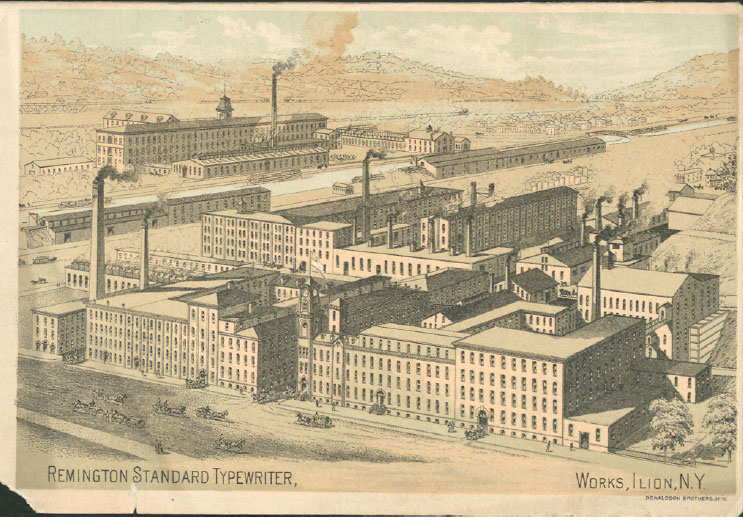wsb end Wyckoff, Seamans & Benedict pull out the stops to sell you a Remington. The Year? 1884