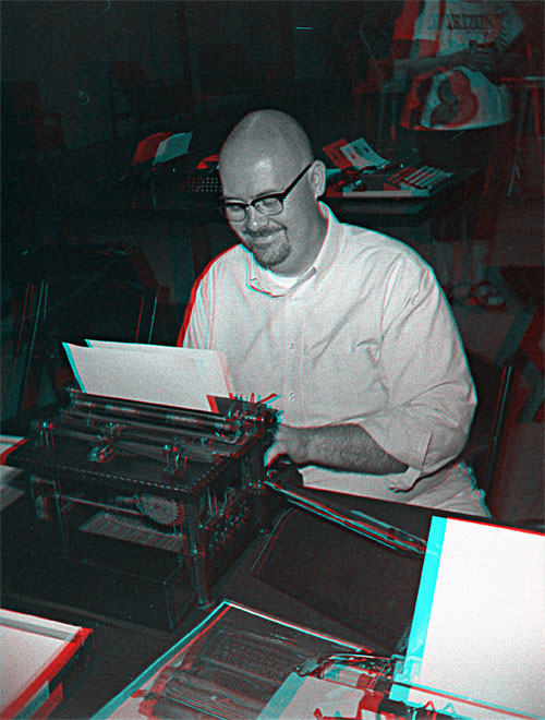 2014 07 26 1a The 5th Phoenix Type In: Squigglyvision and Anaglyphic 3D, Part 1