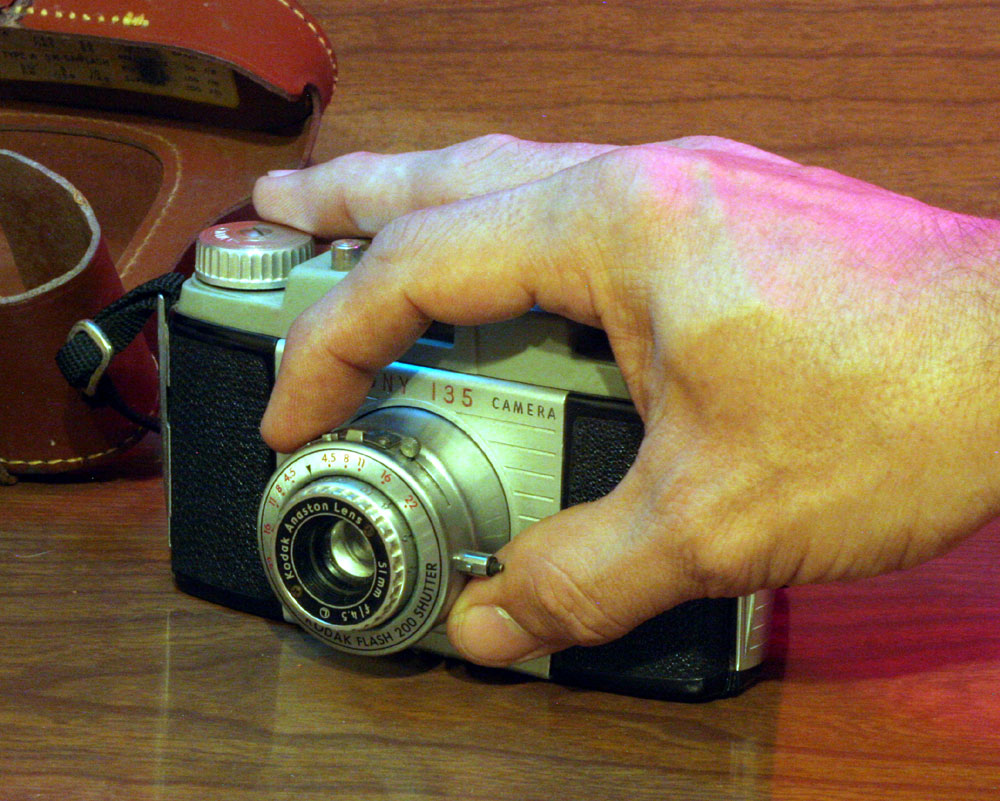 """The front lens assembly is """"collapsable"""" so you need to twist and pull the lens out of the body before you can use it."""