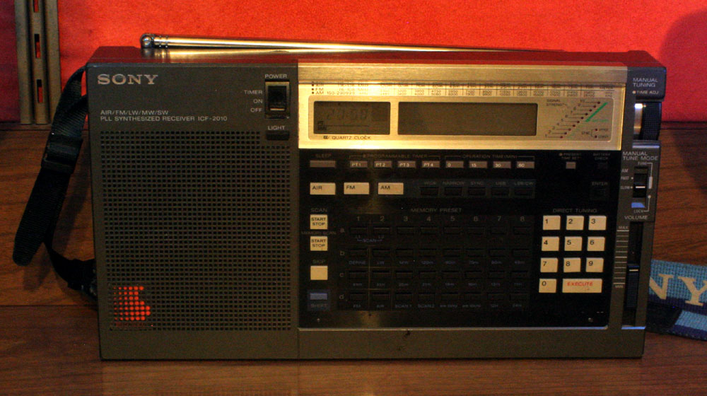 IMG 7405 Radio of The Month: Sony ICF 2010