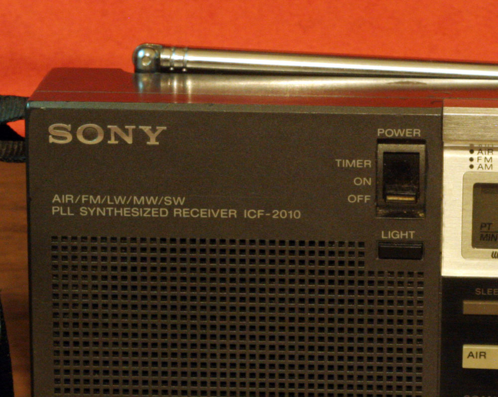 IMG 7410 Radio of The Month: Sony ICF 2010