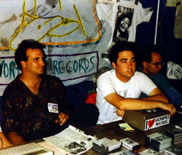 Pre-CD days, we sold T-Shirts and cassette tapes...