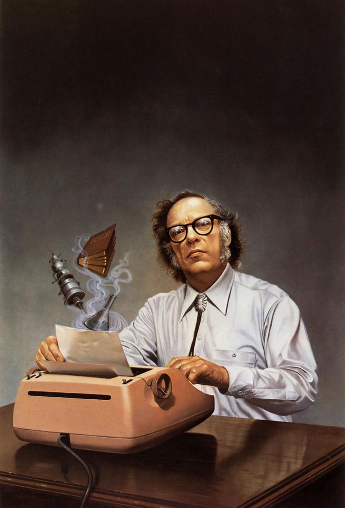 issac asimov typer Isaac Asimovs Typewriter
