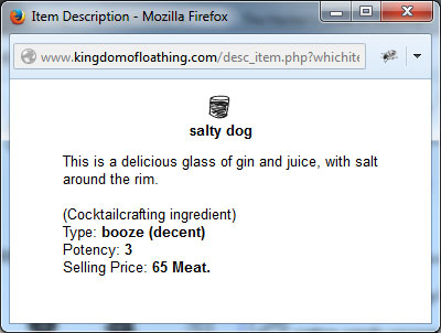 salty dog 1 KOLCon 11: Its Ridiculous, Its Not Even Funny...