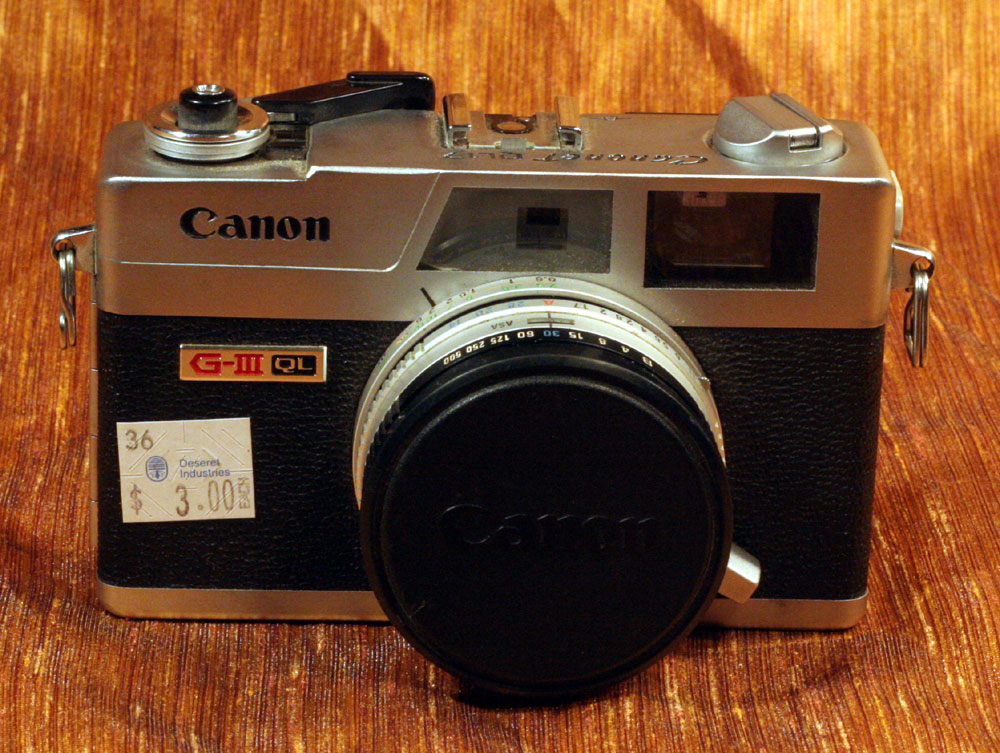 IMG 7426 Timing is Everything in Thrifting: $3 Canon Canonet QL17