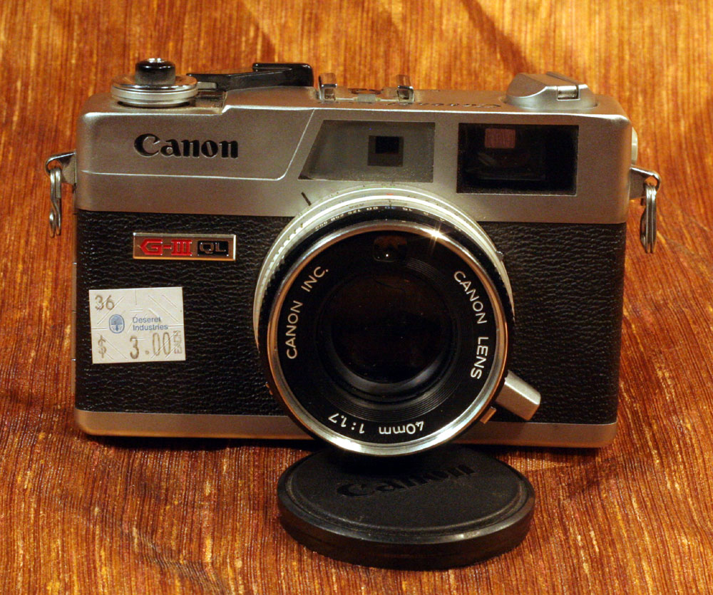 IMG 7427 Timing is Everything in Thrifting: $3 Canon Canonet QL17
