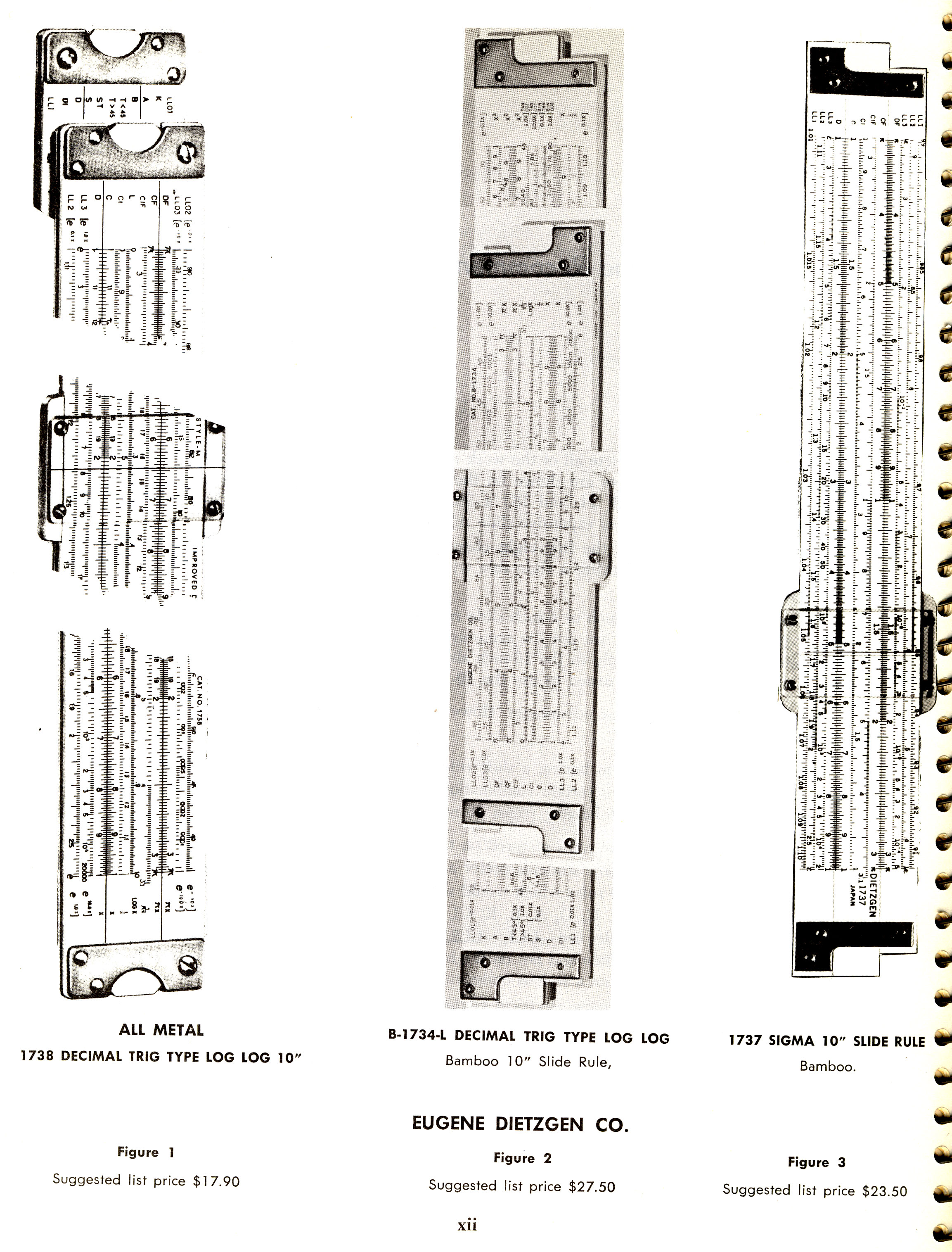 sliderules 1 Slide Rules