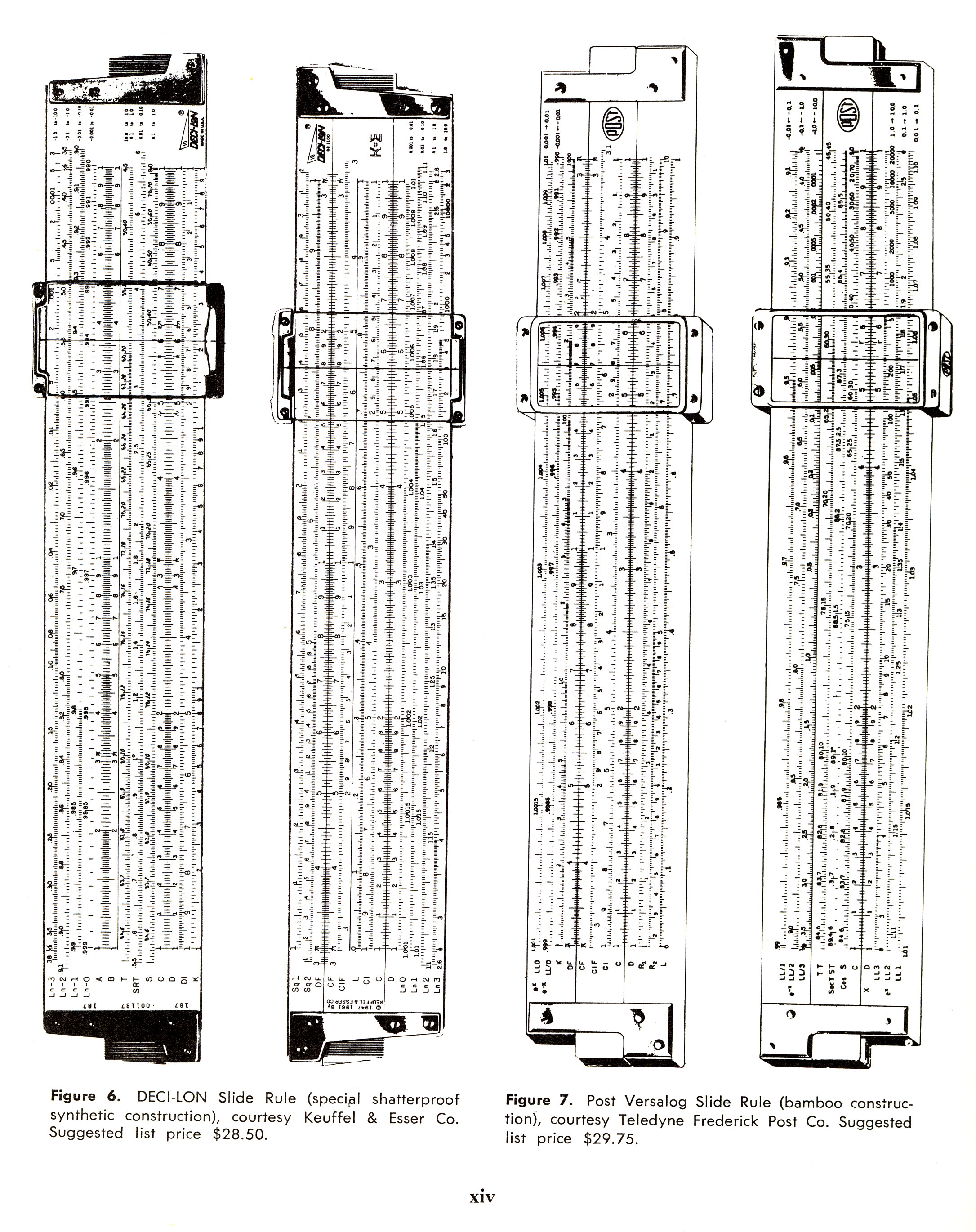 sliderules 3 Slide Rules
