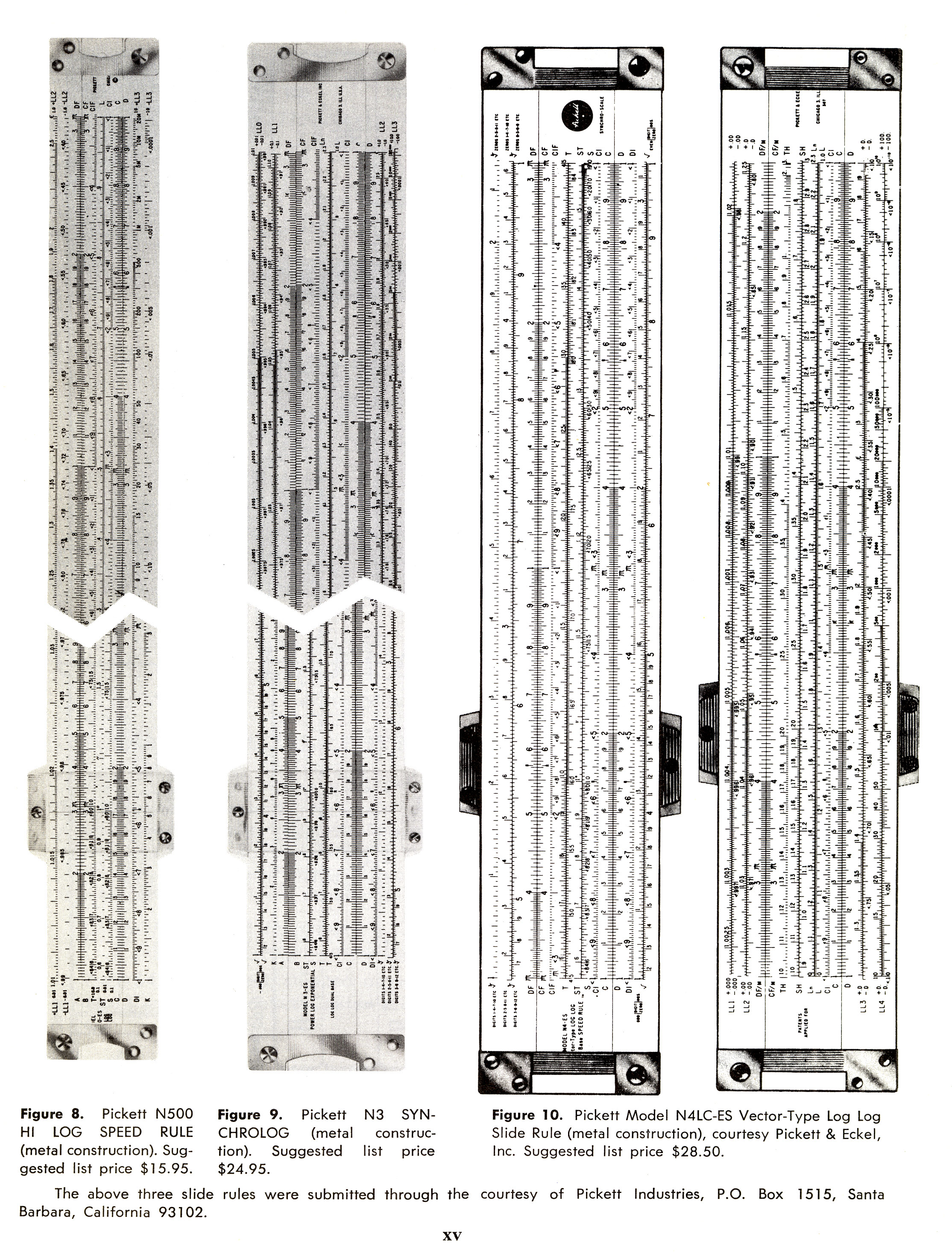 sliderules 4 Slide Rules