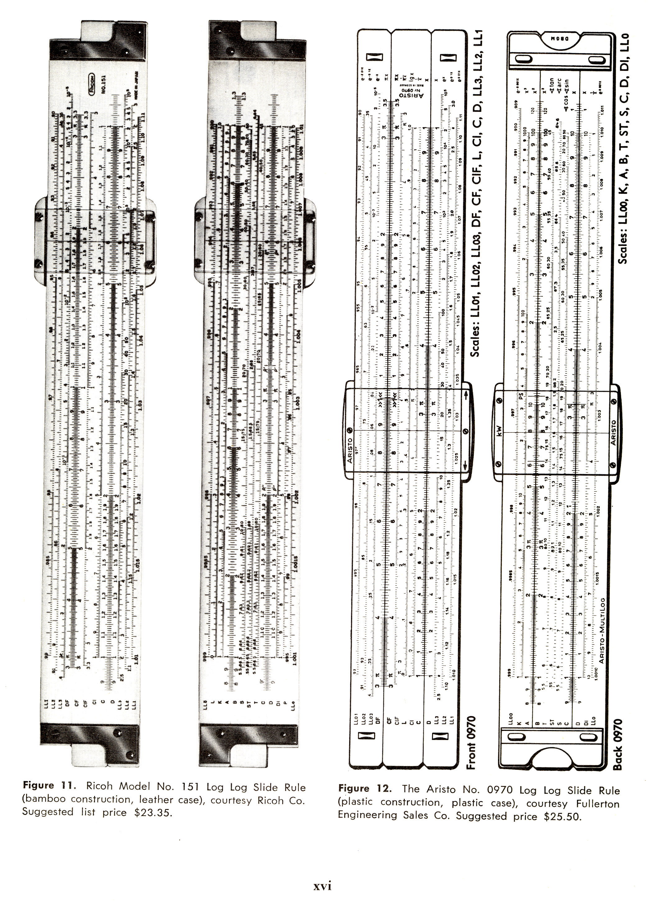 sliderules 5 Slide Rules