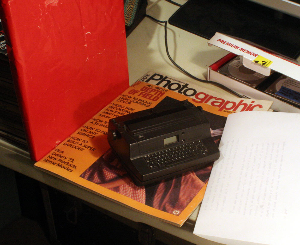IMG 7832 In The Mail: Petersens Photographic (1970s) and the Tiniest Selectric in The World...