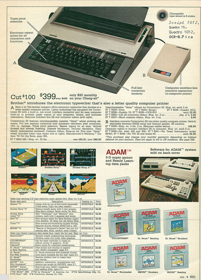 Here's the IF-50 sold as an option for the Correctronic 50 in the Montgomery Wards 1983 Christmas Catalog. $169! Now, 30 years later, I found mine on Ebay for $14, with free shipping.