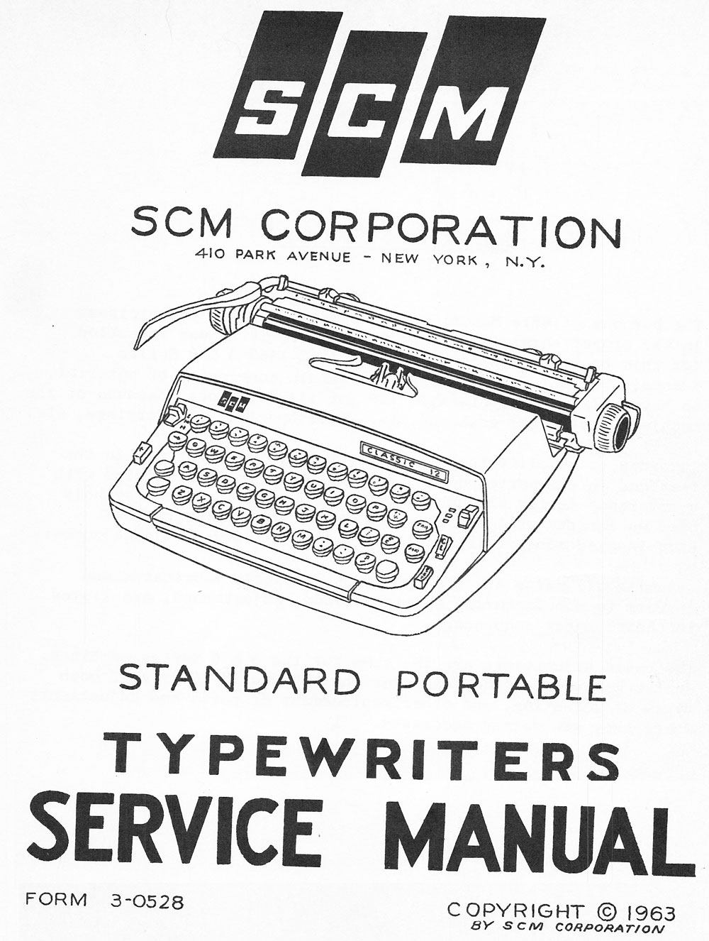 "This Service Manual is now available for download to ""Typewriter Hunter"" level members of the Typewriter Database. Check the File Library under ""Repair and Maintenance""."