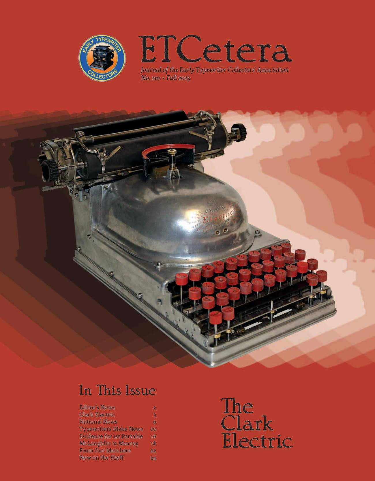 "The new ETCetera Magazine is out, and among the very interesting and neat things contained therein, I found also the sad news that one of the first Typewriter Hunters to contribute machine galleries to the TWDB has passed away. Cuyler ""Ned"" Brooks, sorry to see you go, friend - you'll be missed. ):"