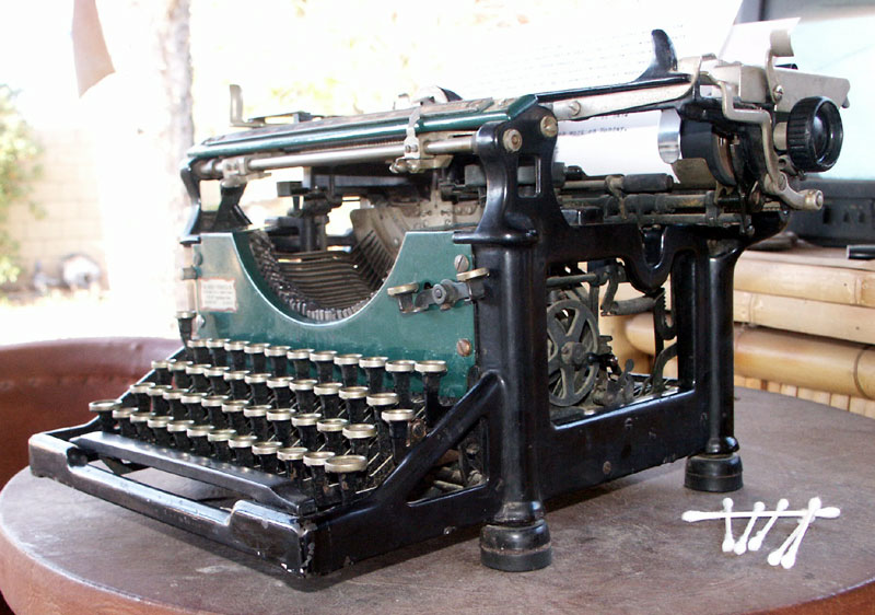 Weapon of Choice: Drago, 1920 Underwood #5