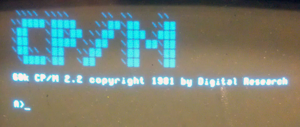 Ok, let's try the command line, and see how much CP/M we recall...