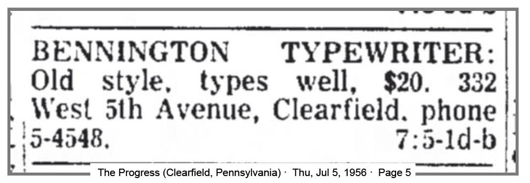 1956-07-05-bennington4sale