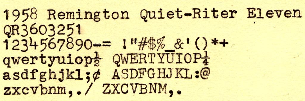 typesampleQR11