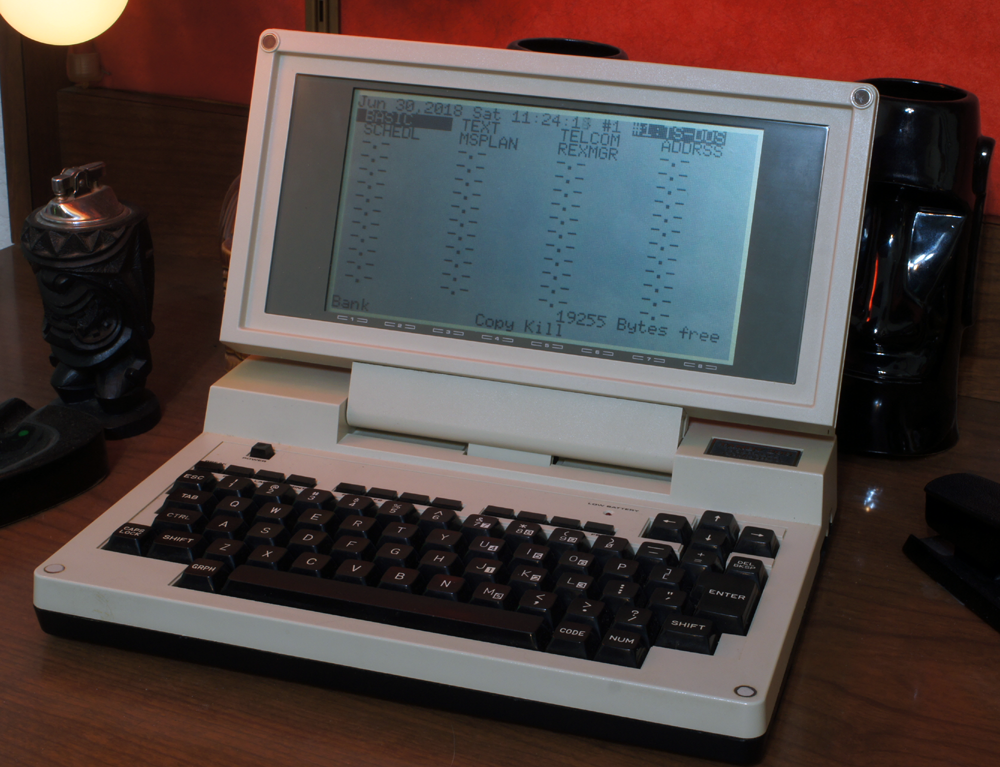 Converting a TRS-80 Model 100 REX ROM to work in a Tandy 200